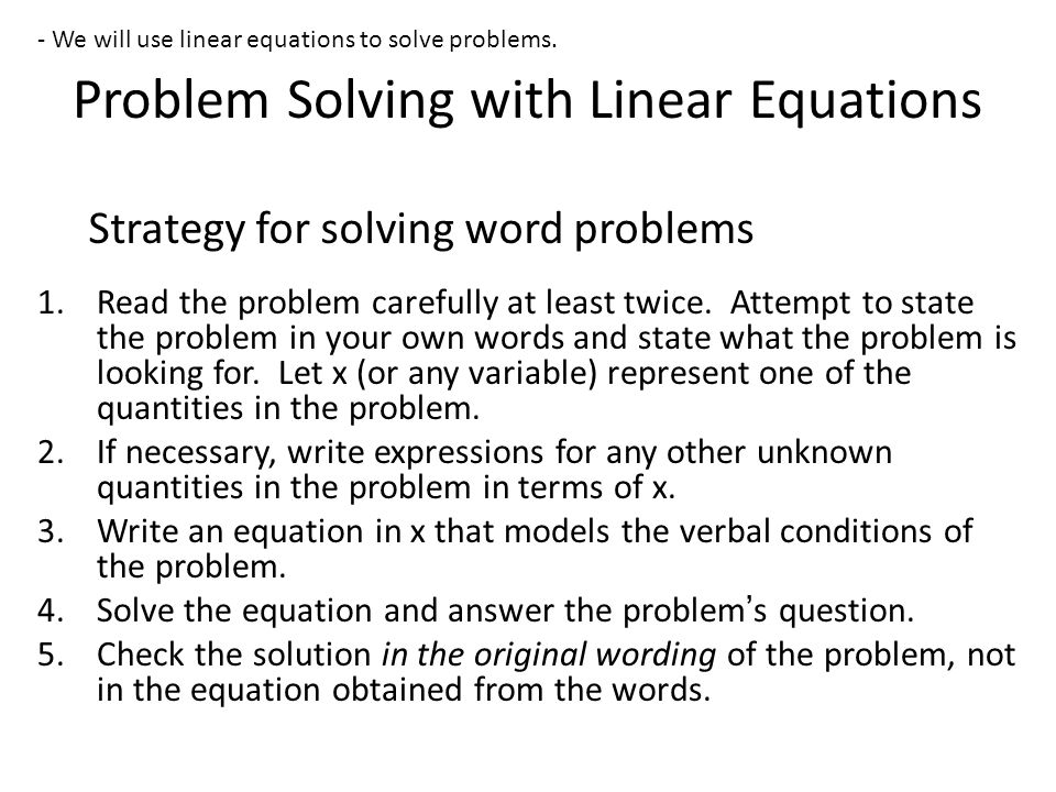 Old Fashioned Worksheet Solving Linear Equations Photo - Math ...