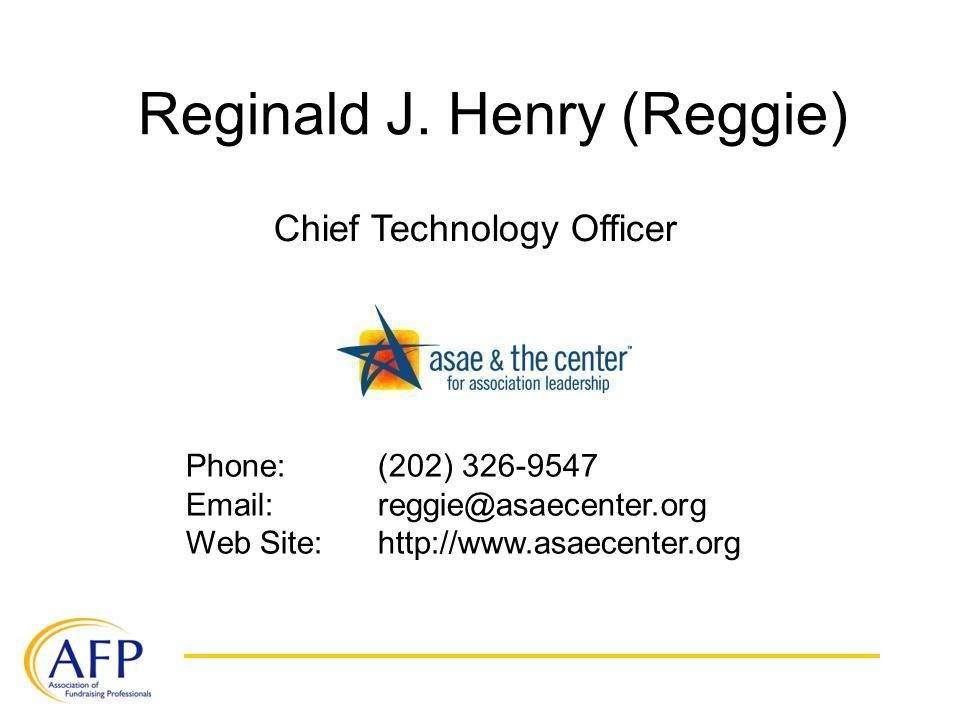 Reginald J.
