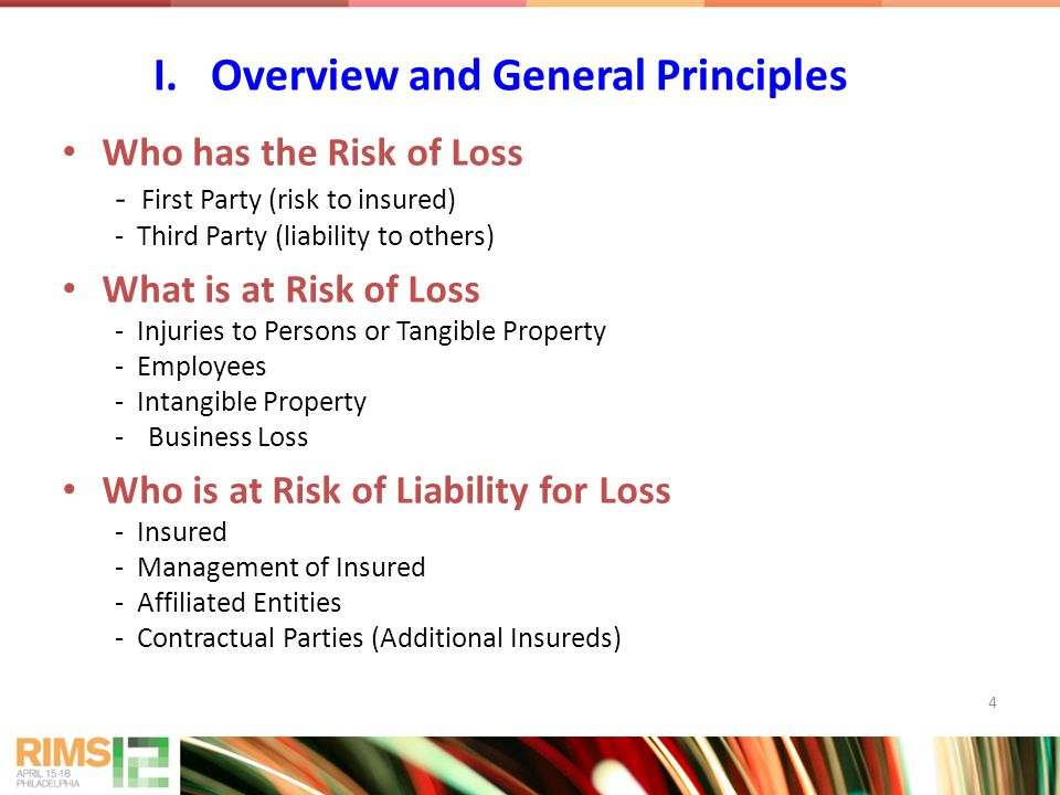 15 Owned, rented or occupied property The Insured's product - But may be covered if incorporated into a building or other product Exclusions - Faulty workmanship - Worker Comp - Pollution Exclusions - Intend/Expect Cooperation and Settlement Misrepresentation and Disclosure Successor Access III.Third Party Coverage Other GL Issues