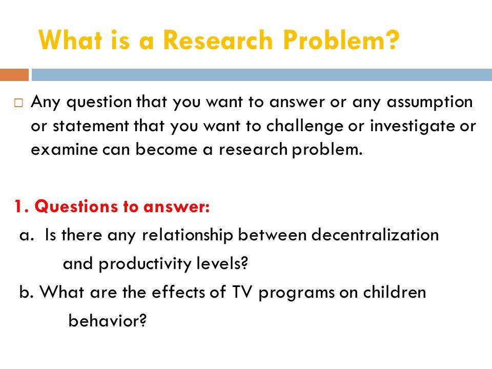 2.Assumptions a.