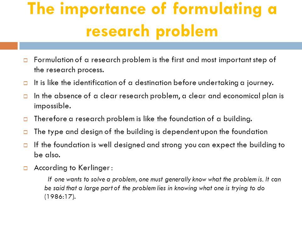 Sources of Research Problem  People  Problem  Program  Phenomenon