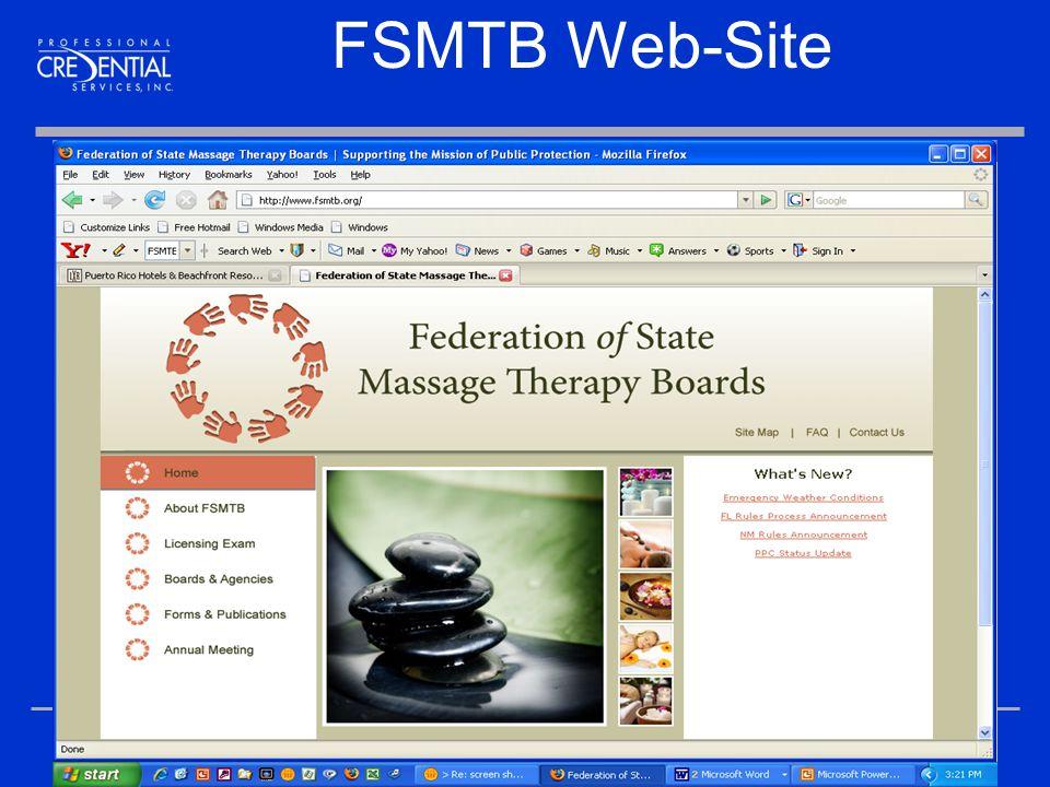 15 FSMTB Web-Site
