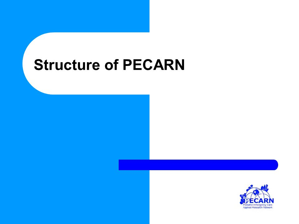 Structure of PECARN