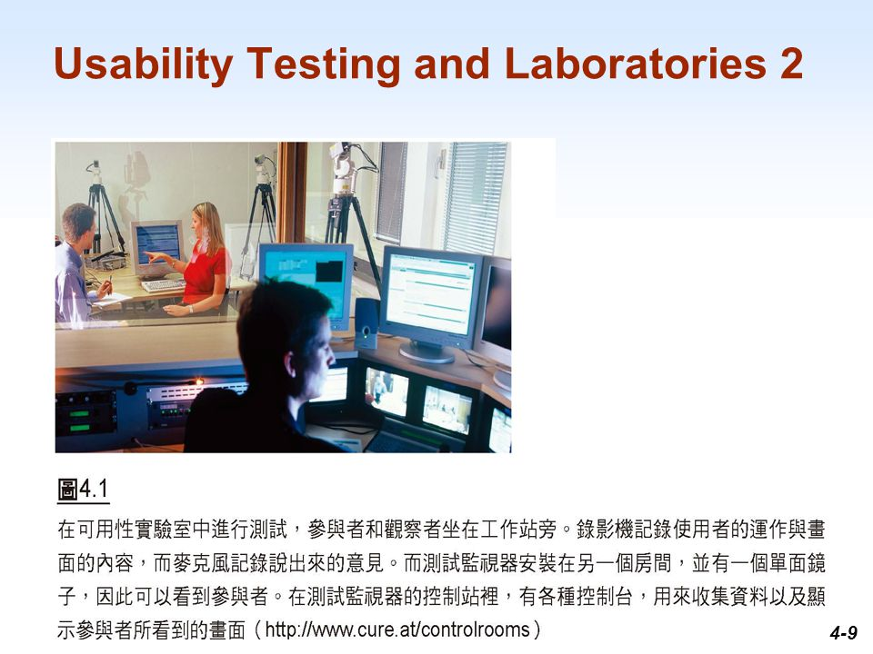1-9 Usability Testing and Laboratories 2 4-9