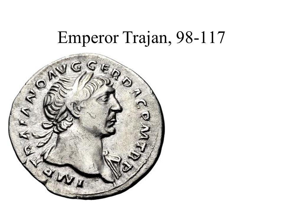 Emperor Trajan, 98-117