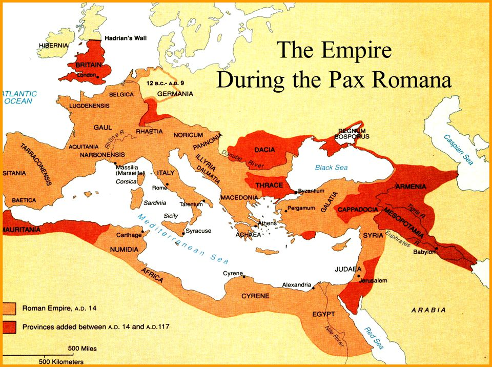 The Empire During the Pax Romana