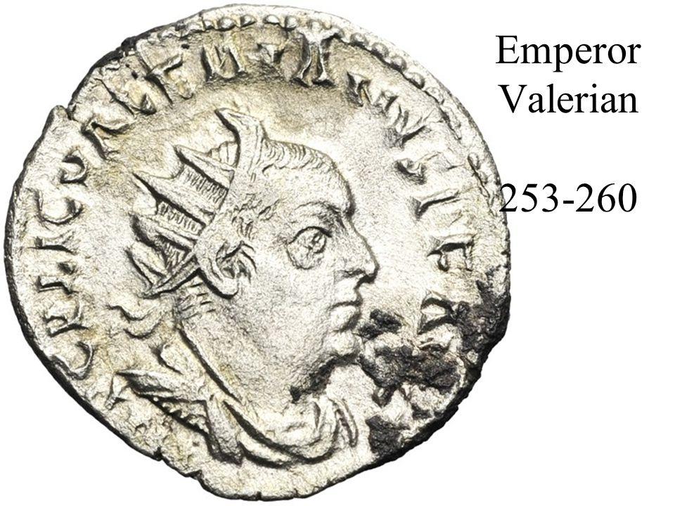 Emperor Valerian 253-260