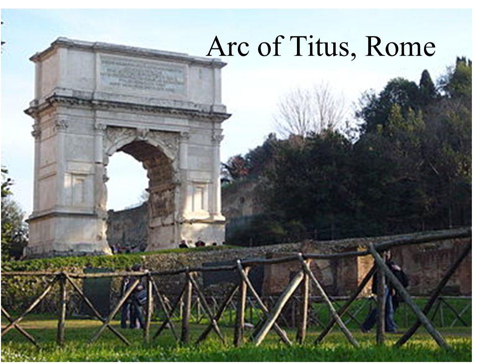 Arc of Titus, Rome