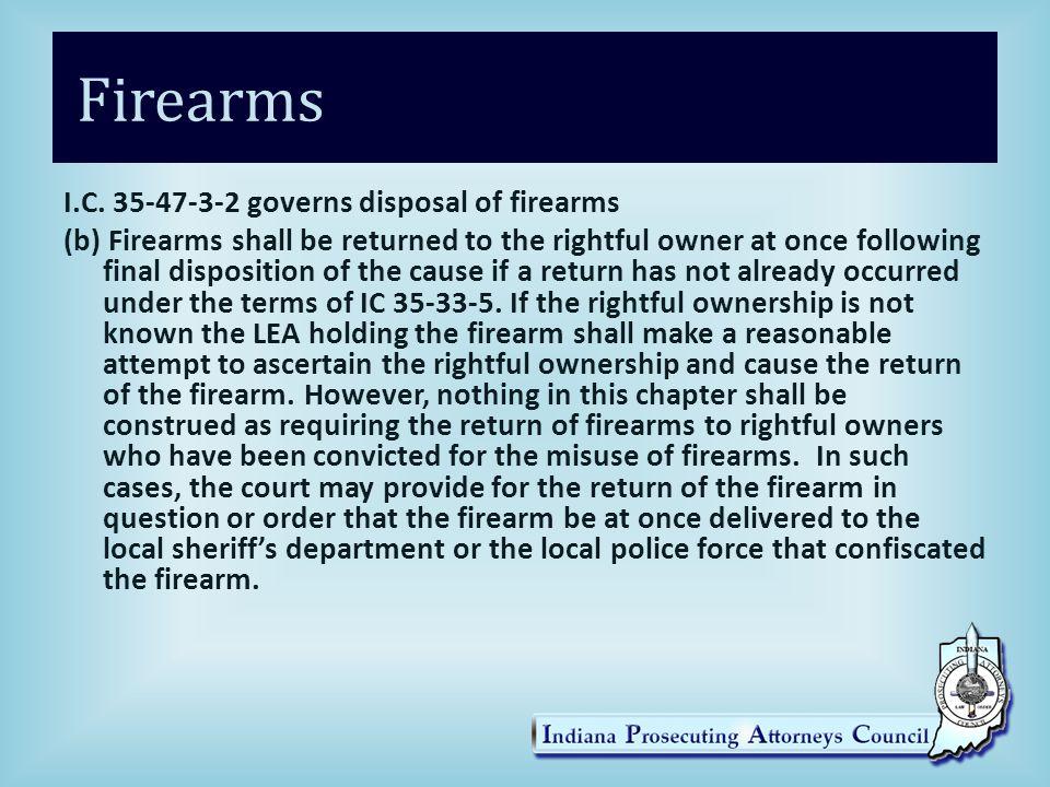 Firearms I.C.