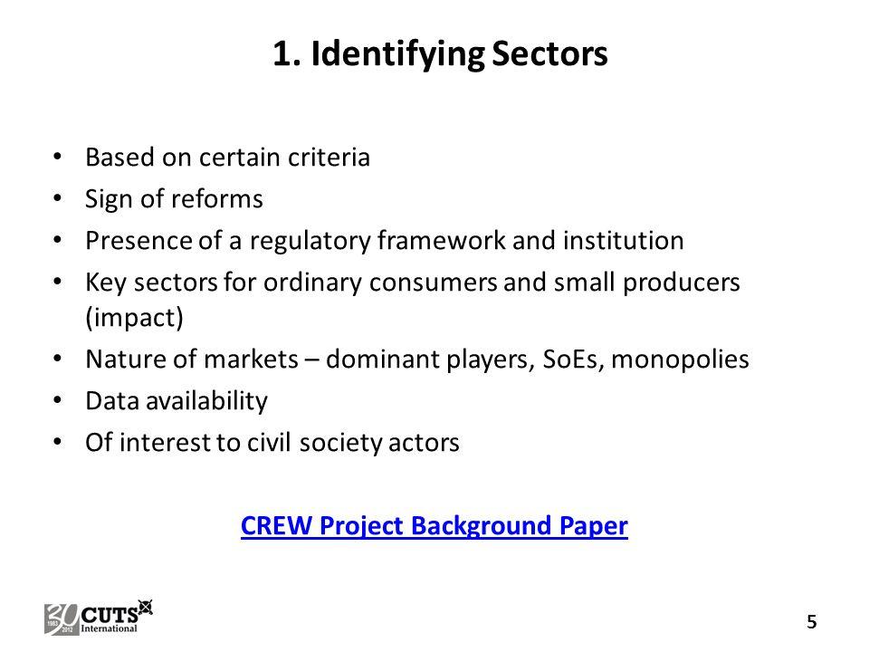 2. Fixing Indicators: Consumer & Producer Welfare 6