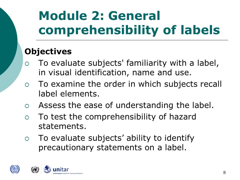 19 General Issues for Testing  Always introduce yourself first as an interviewer and the organization you present  Before conducting any of the modules in this instrument, participants should first give informed consent  Consent procedures are outlined in the opening section of module 1  Testing is not a Test!
