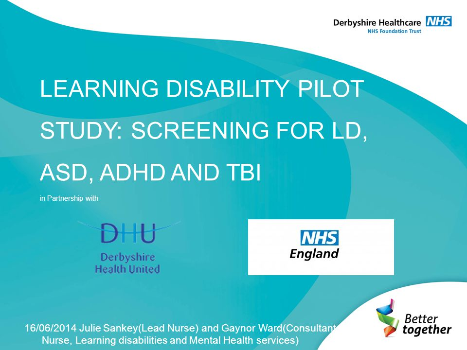 Further work The screening tools took 20 minutes to complete by a LD Clinician, it may be beneficial to carryout the same screening pilot locally within a custody suite.