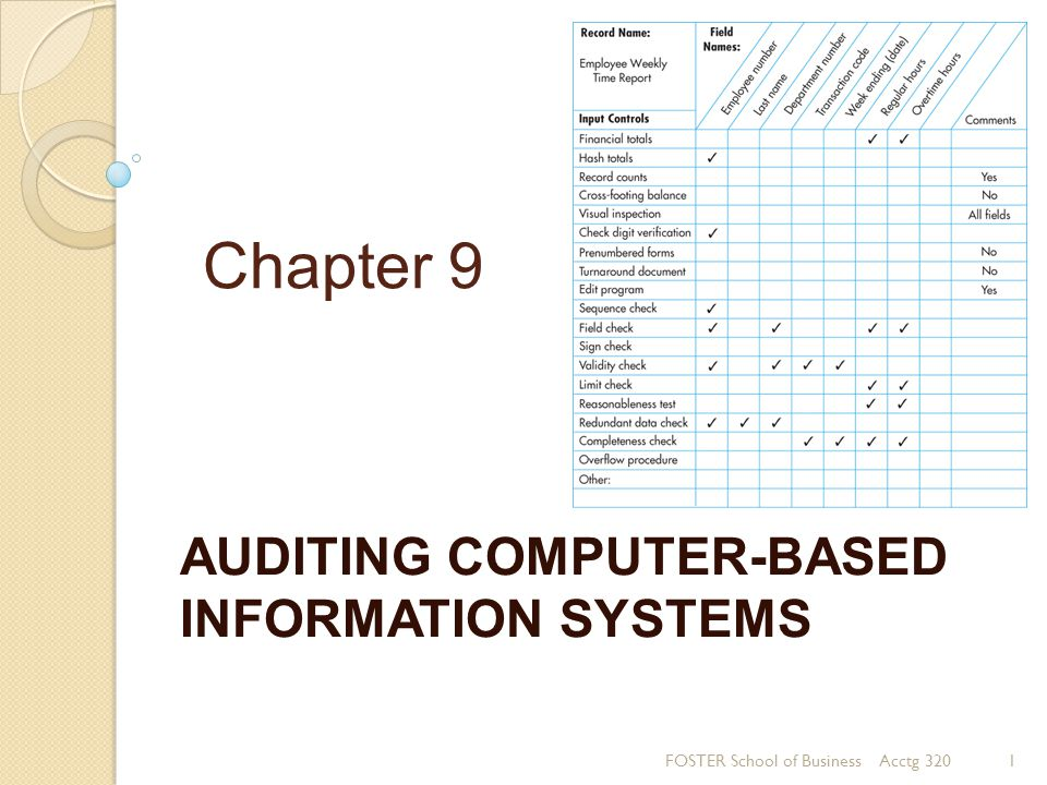 Audit Planning When.By whom will the audit be performed.