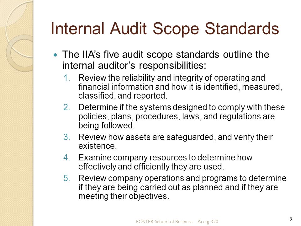 Operational Audits of an Accounting Information System The techniques and procedures used in operational audits are similar to audits of information systems and financial statements.