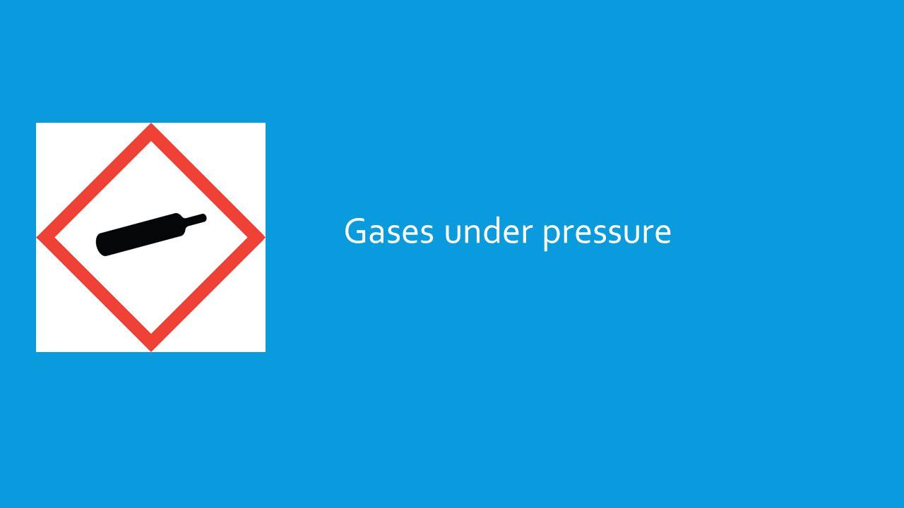 Gases under pressure