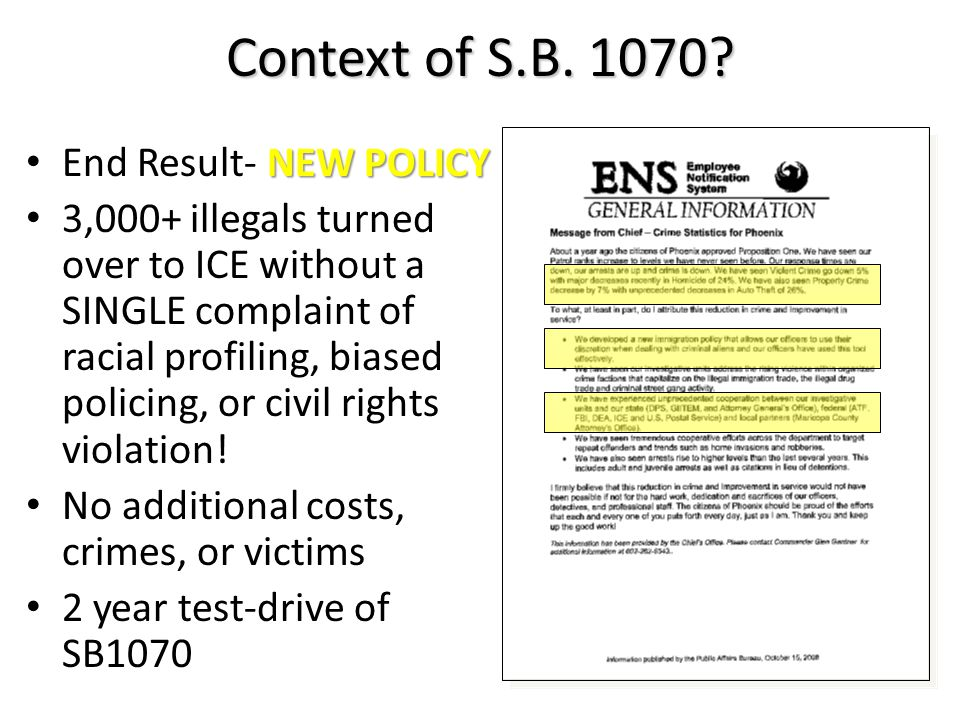 NEW POLICY End Result- NEW POLICY 3,000+ illegals turned over to ICE without a SINGLE complaint of racial profiling, biased policing, or civil rights