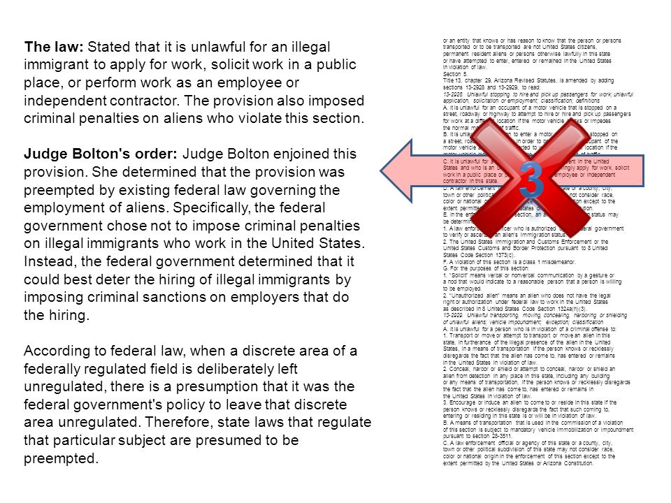 or an entity that knows or has reason to know that the person or persons transported or to be transported are not United States citizens, permanent re