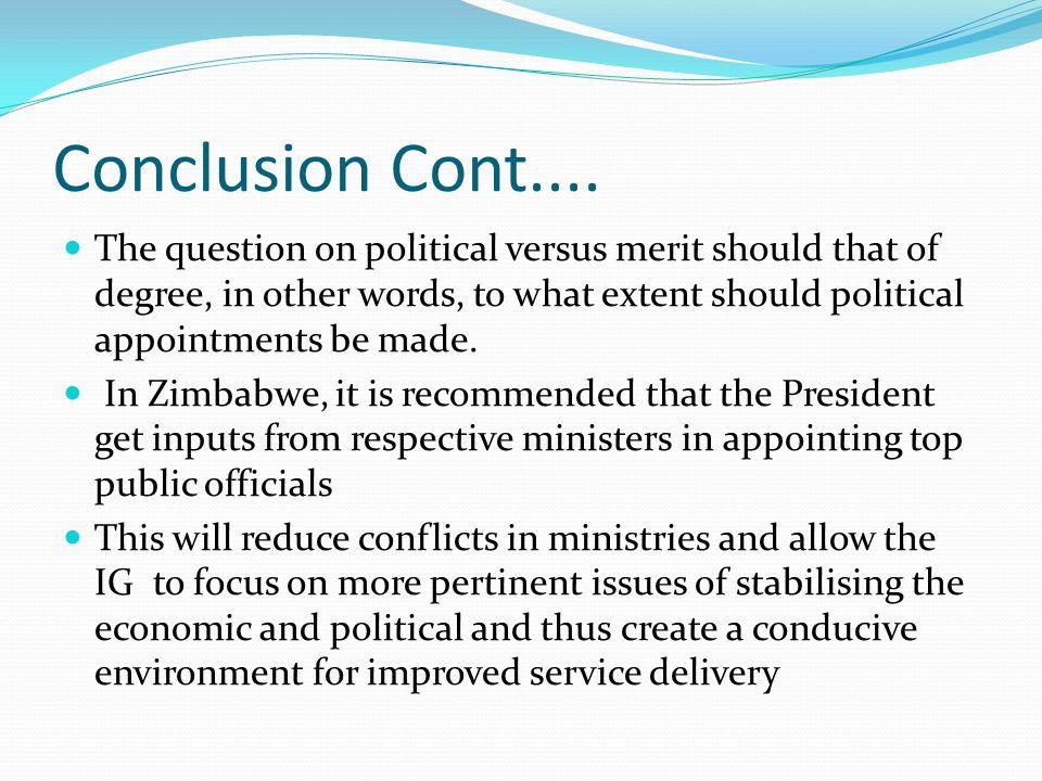 Conclusion Cont....