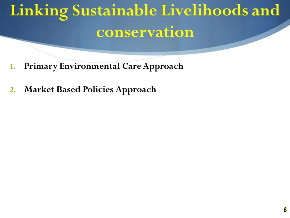 Synthesis Survival rather than accumulation Risk prone Opens new Economic Pathways Income, savings and Market differentiation Within the community/District Non-uniformity of outcomes of diversification Wealth disparity Marginal and compulsive alternatives Thrives on social capital Poverty Reduction Requires empowerment of state actors Requires formal institutional support Demands budgetary frameworks Livelihood Sustainability