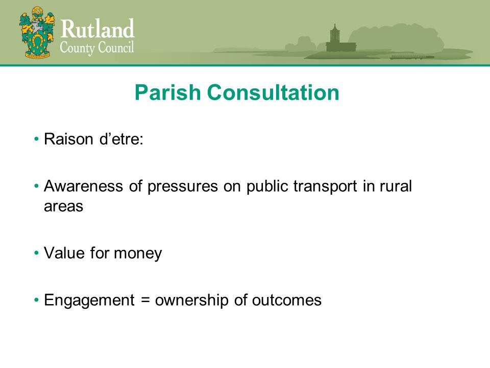Question 5 Are you satisfied that appropriate transport is provided from your parish / town for children to get to school.