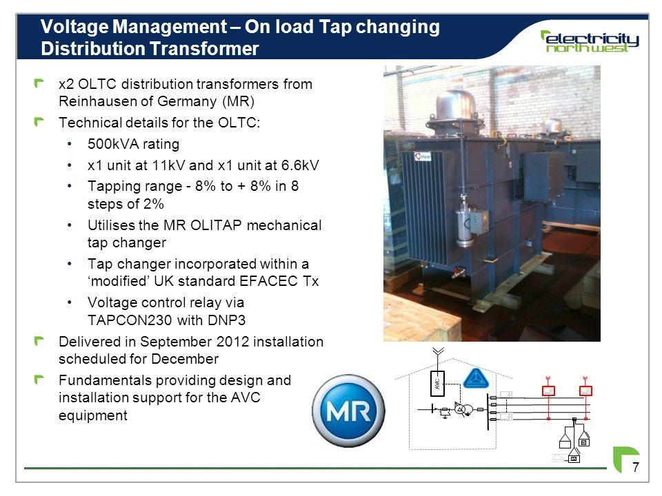 LV Feeder Voltage Control 8