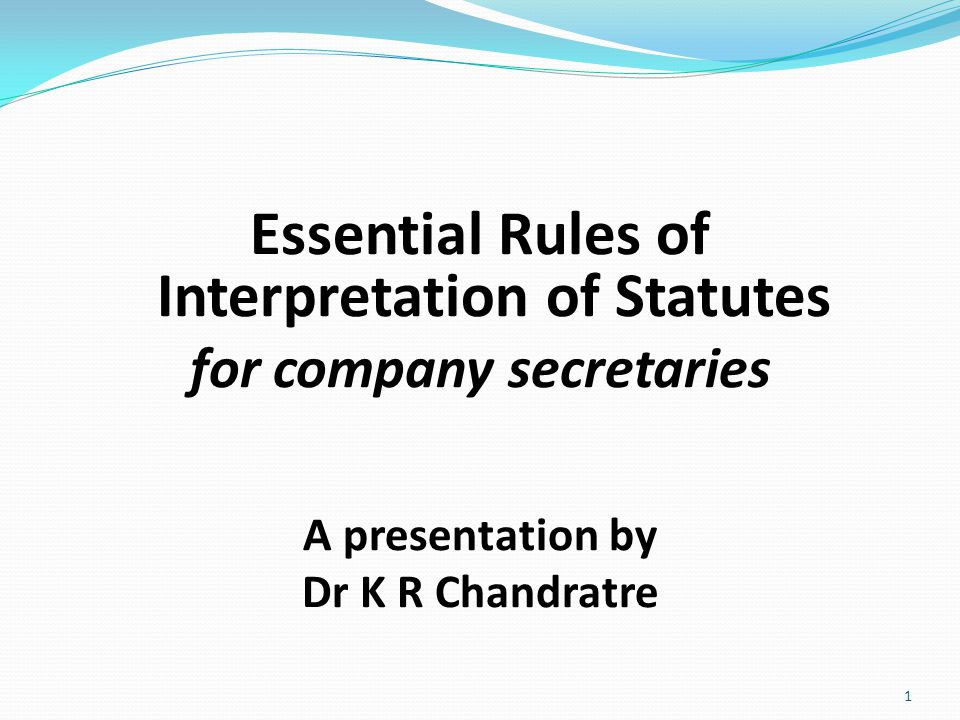 To be a company secretary, you have to be able to read and interpret statutes, rules, regulations, etc correctly and effectively, and advise your employer or client, who look to you for advice for their problems.