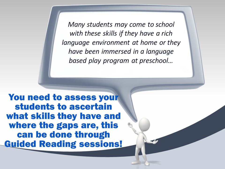 Balanced Reader at Every Level of Reading 93% of work in secondary schools is based on factual texts.