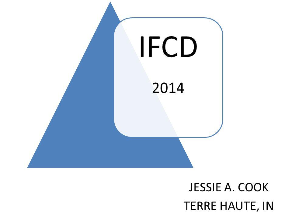 IFCD 2014 JESSIE A. COOK TERRE HAUTE, IN