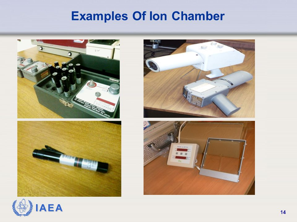IAEA 14 Examples Of Ion Chamber
