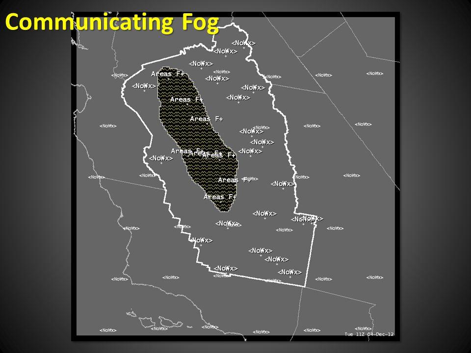 Communicating Fog