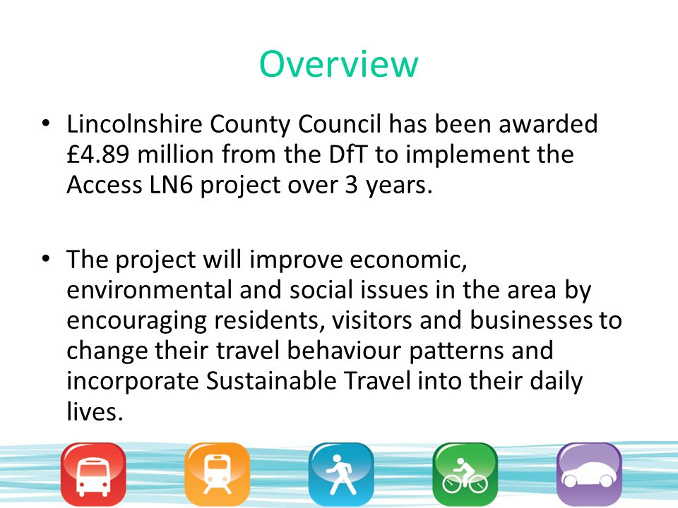 Consultation Traffic congestion has had a negative impact on the local economy.