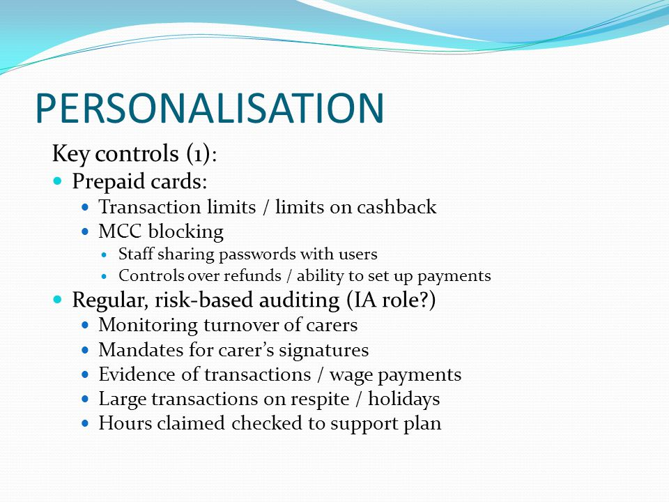 Lessons Learnt / Audit Implications Lack of Communication / Joined Up Approach Delays in Obtaining Appointeeship Weaknesses in Financial Assessment Process Correct Raising of Debts & Communication with Client's Relatives Are There Others.