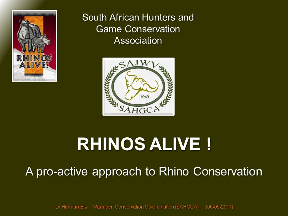 (1)Fact: Rhino conservation is very much a South African success story; (1)Fact: Rhino conservation is very much a South African success story; (2)Fact: Asian medicinal values grew over 5,000 years and is a reality not wished away; (3)Fact: Currently only smugglers and criminals benefit from the trade in Rhino horn.