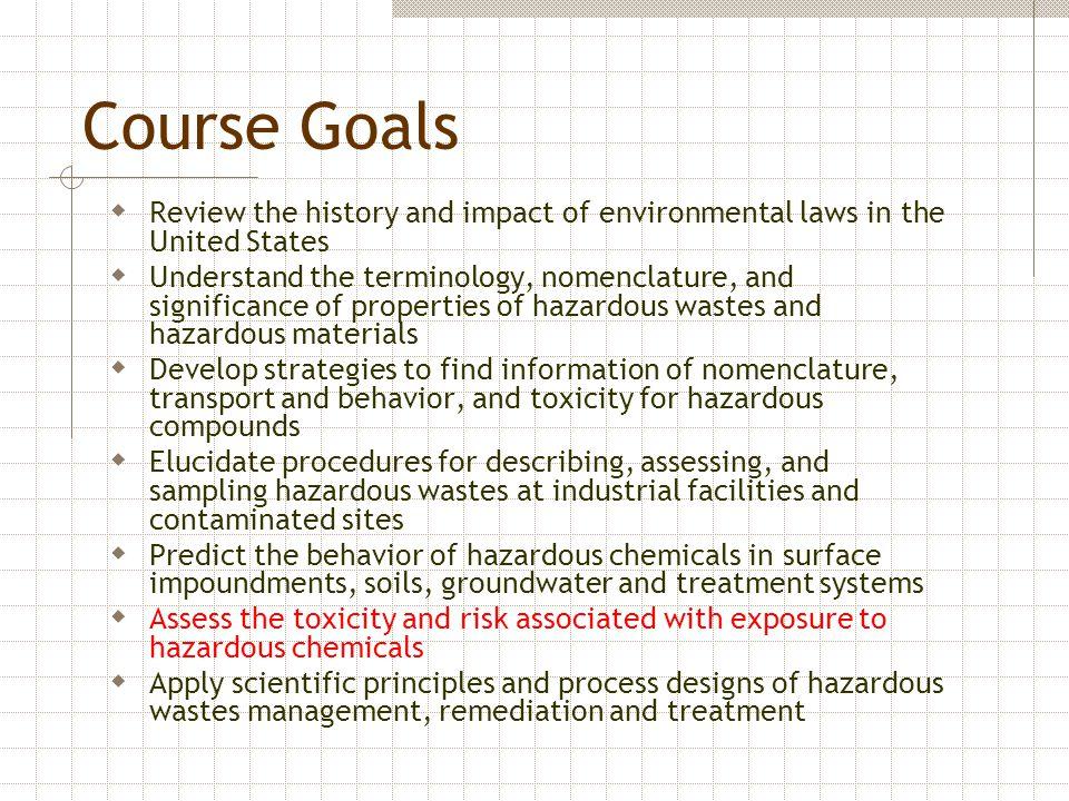 Ecological Risk Assessment Framework