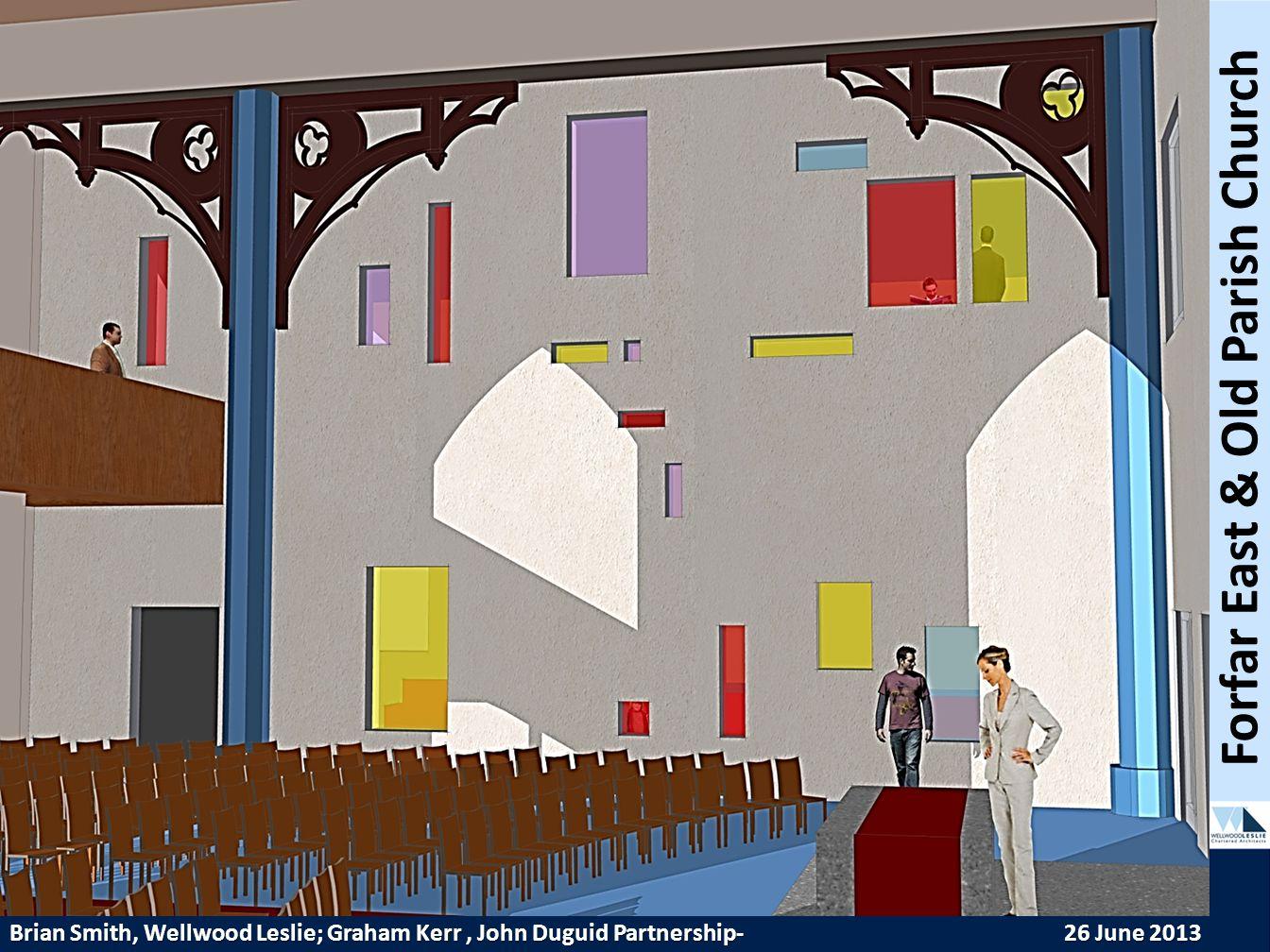 PROPOSED HOUSING DEVELOPMENT—TWEEDBRIDGE COURT—PEEBLES Forfar East & Old Parish Church Brian Smith, Wellwood Leslie; Graham Kerr, John Duguid Partnership- 26 June 2013