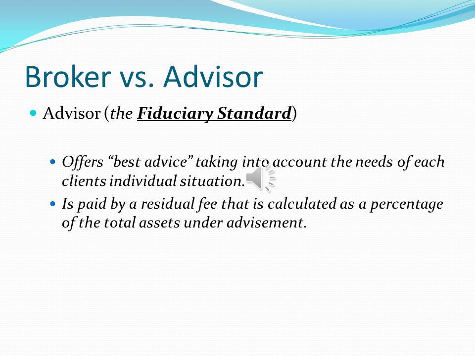 Broker vs.
