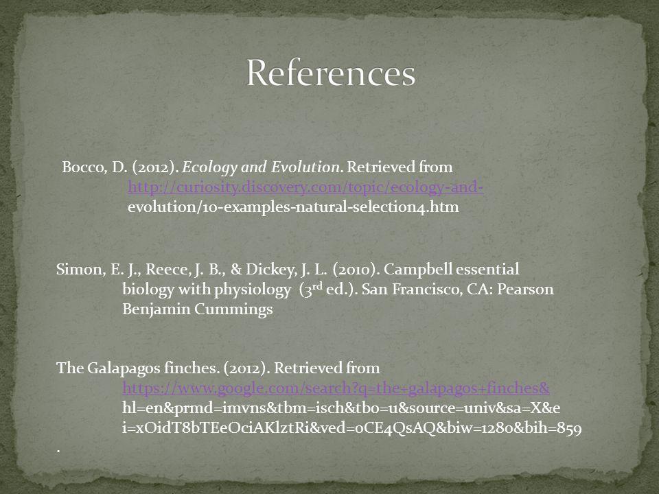 Simon, E. J., Reece, J. B., & Dickey, J. L. (2010).