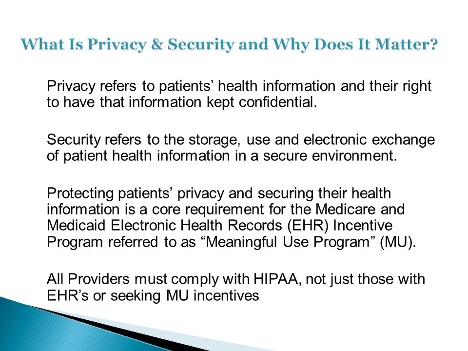 On January 17, 2013, the Department of Health and Human Services (HHS) issued a final rule modifying the Health Insurance Portability and Accountability Act (HIPAA) Privacy, Security and Enforcement rules, including changes required by the Health Information Technology for Economic and Clinical Health Act (HITECH Act).