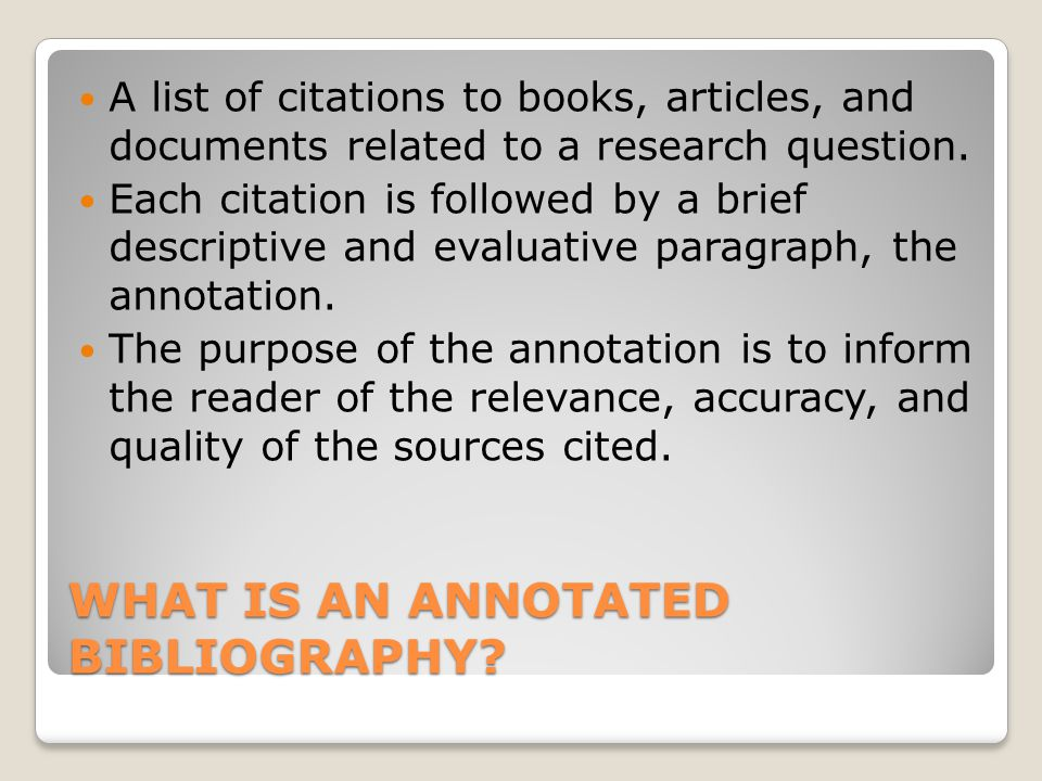 Requirements A Clearly stated research question MLA Citation Format A minimum of 8 sources A minimum of 5 scholarly sources (books or articles) The other 3 can be from newspapers, magazines, interviews etc.