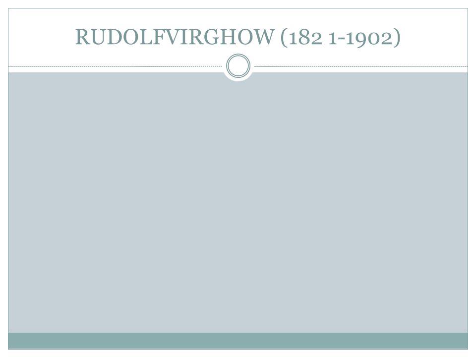 RUDOLFVIRGHOW (182 1-1902)