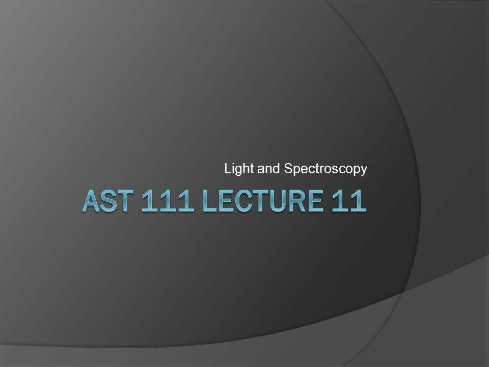 Light and Spectroscopy