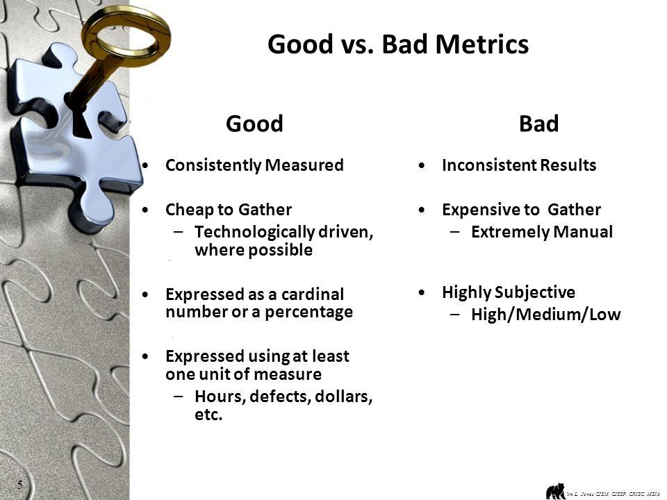 5 Good vs.