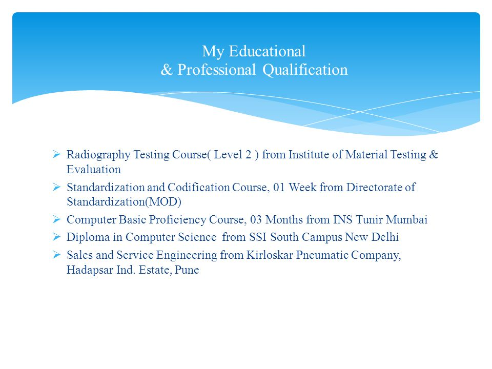 My Salary expectation: Rs 100,000/- per month and HRA/ Accommodation (Negotiable) Alok Mohan mohanalok@gmail.com 91-9871702724 My Employability
