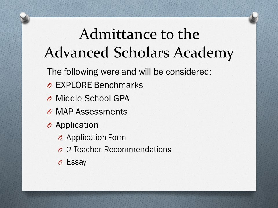 So why apply for the ASA.What the students have to say.