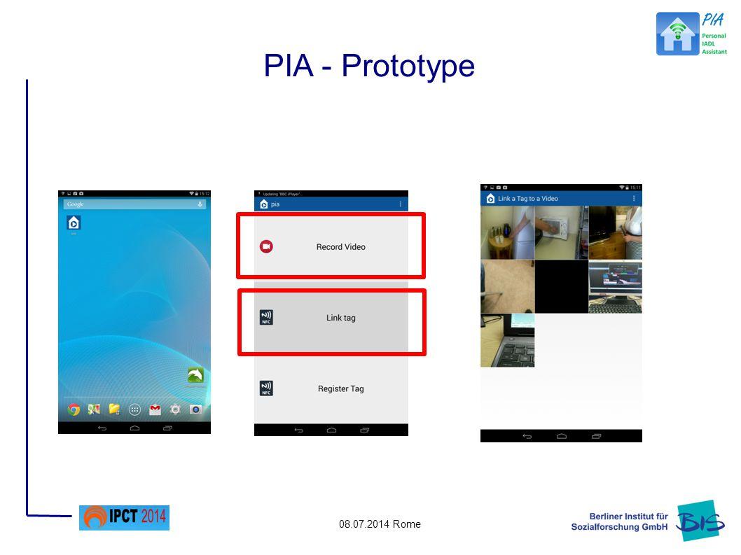 08.07.2014 Rome PIA - Prototype