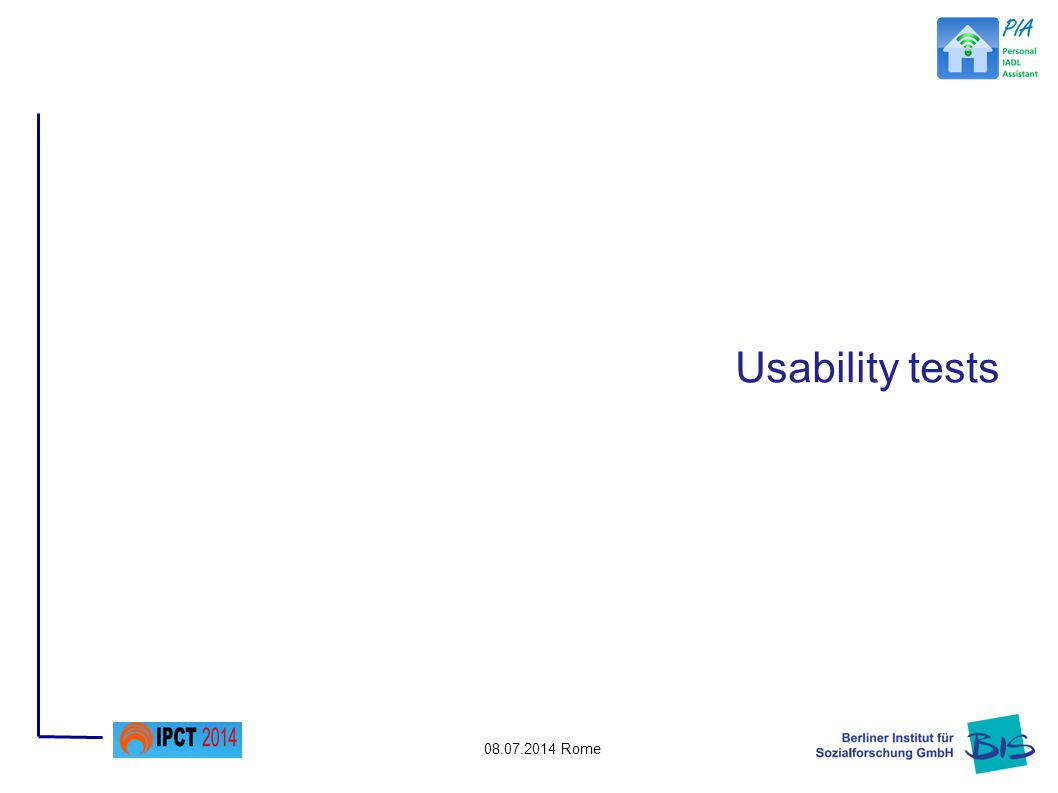 08.07.2014 Rome Usability tests