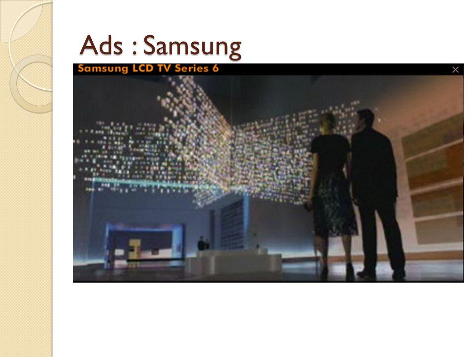 Ads : Samsung