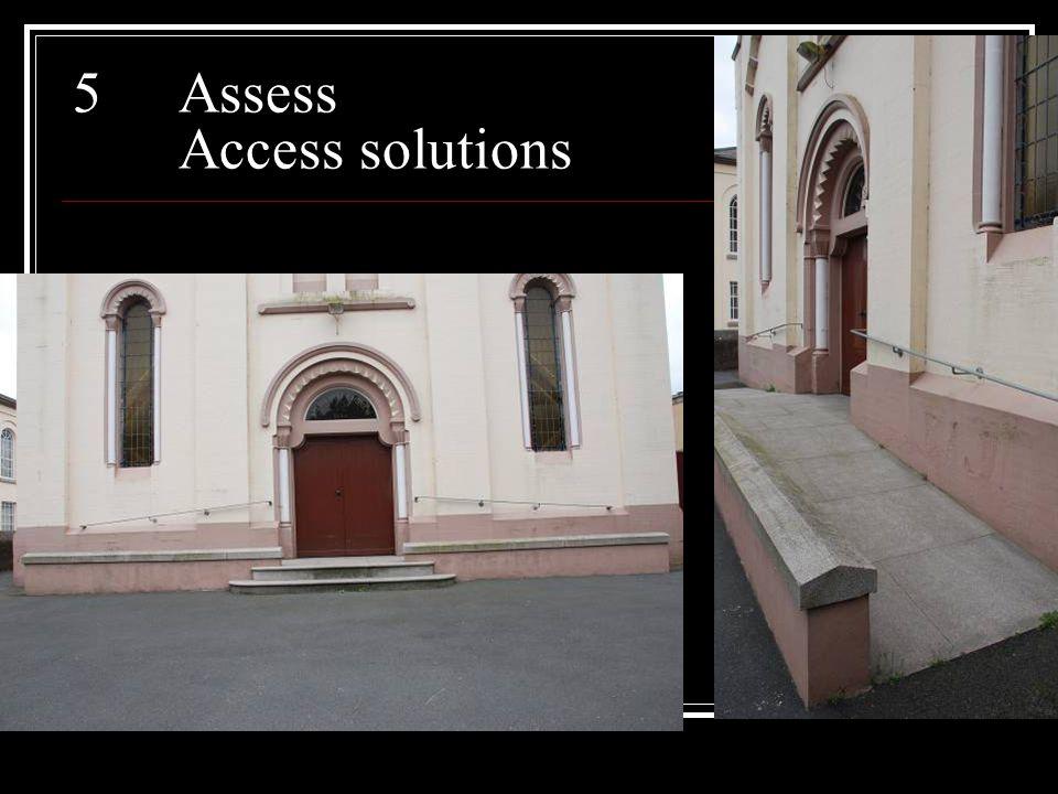 5Assess Access solutions