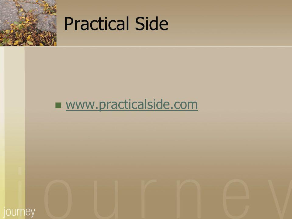 Practical Side www.practicalside.com.