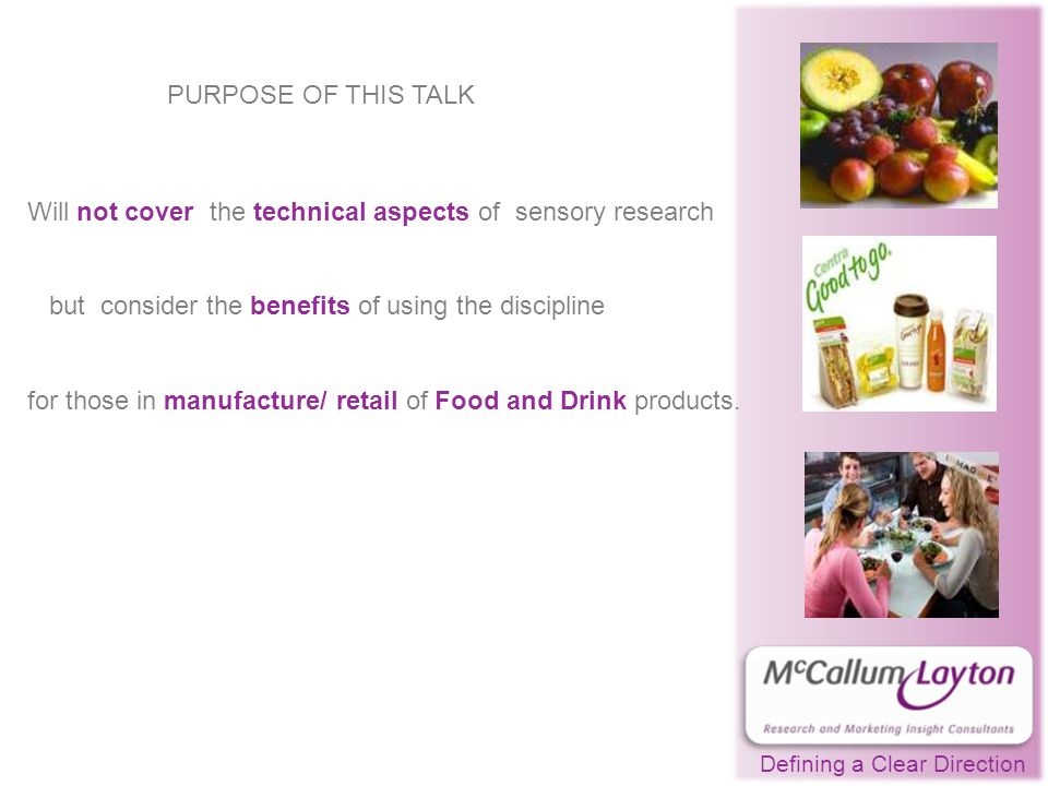 -(b) Descriptive sensory research showed how the old and new products were different and the magnitude of difference.